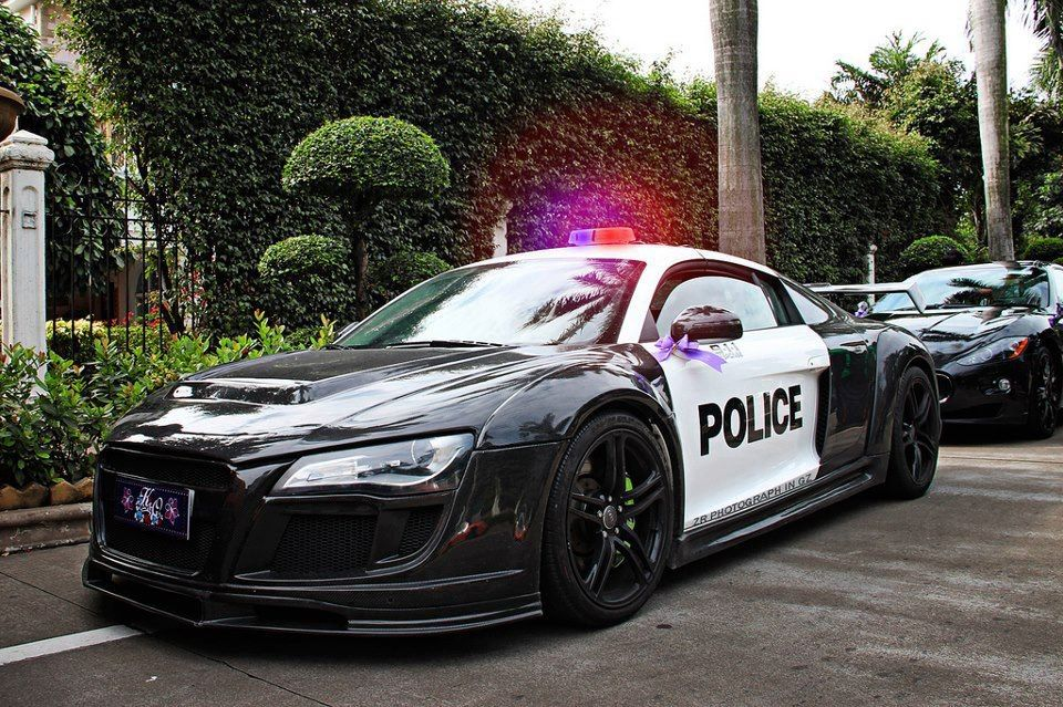 Audi R8 Police Car I Want To Be The Cop That Drives This Exotic