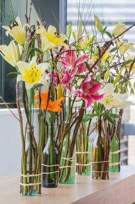 Uprawa Letnich Kwiatow Na Bukiety Mieczyki Lilie I Dalie
