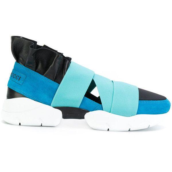 strap detail sneakers - Grey Emilio Pucci JjYRO4RU0