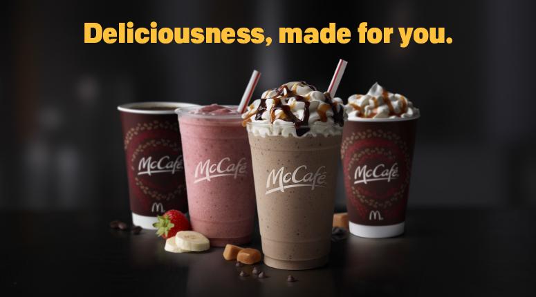 McCafé :: McDonalds.com | Yummy junk food | Pinterest