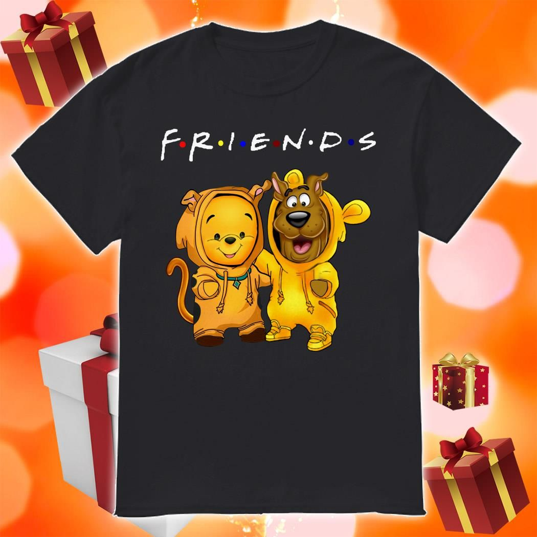 Friends Pooh And Scooby Doo Shirt