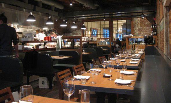 Staple and fancy fine dining in ballard seattle by atelier - Restaurant interior design seattle ...