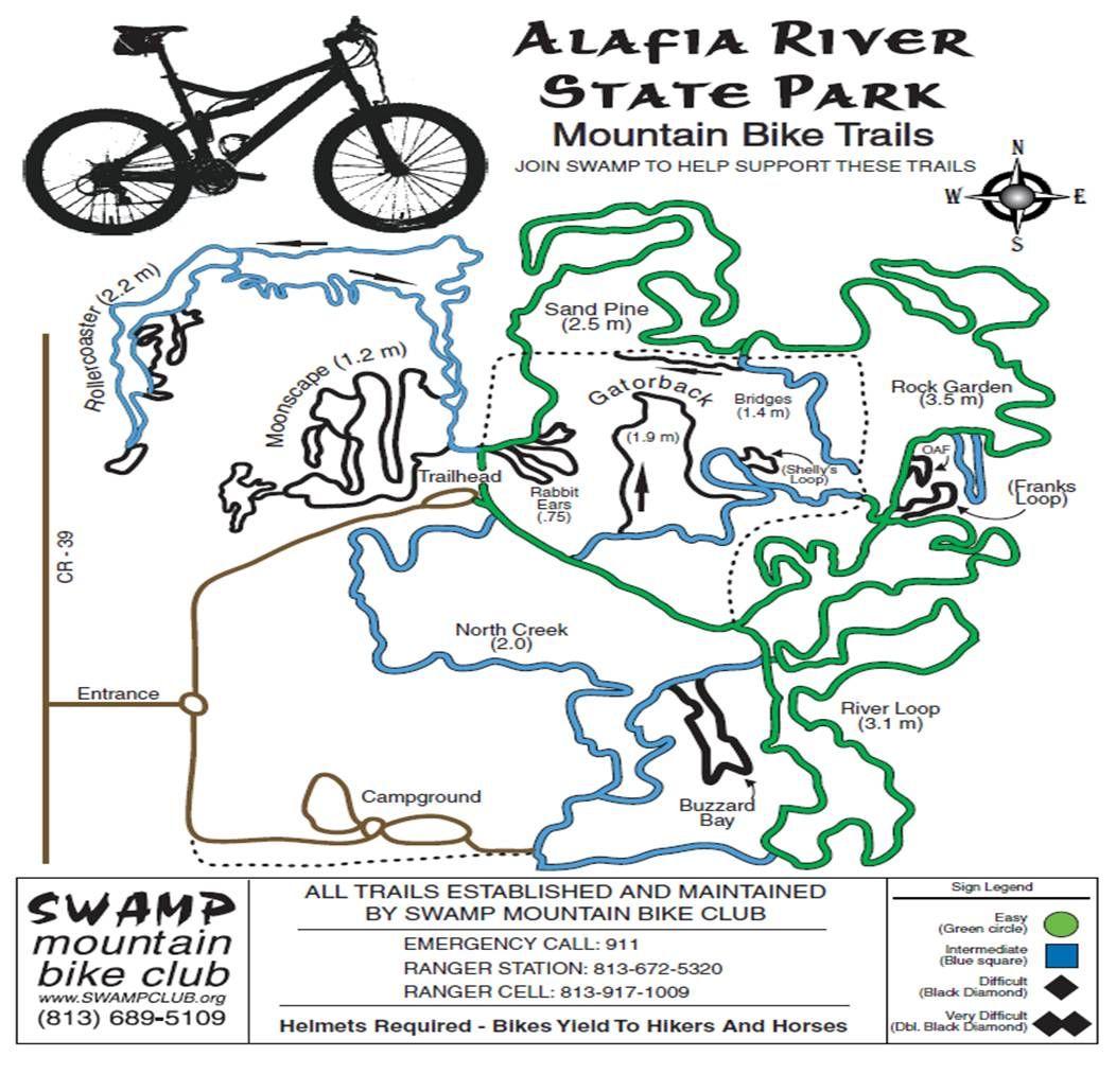 Balm Boyette Mountain Bike Trail