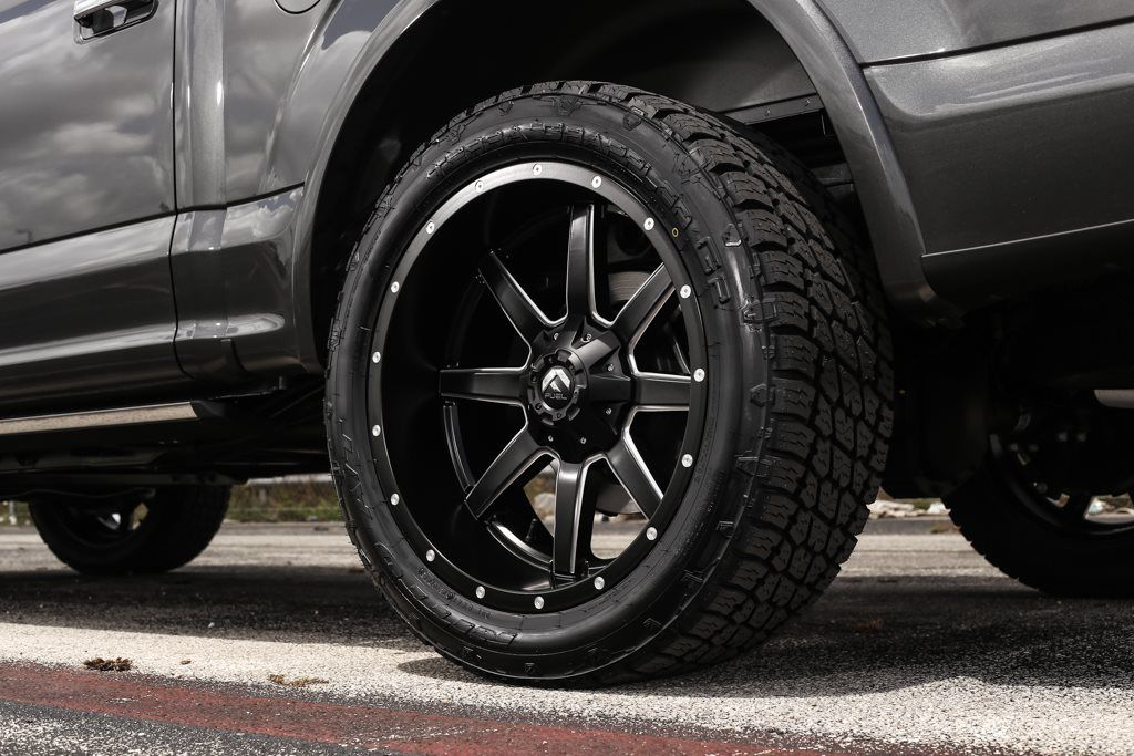 exclusive motoring ford f150 platinum on 22u2033 fuel offroad wheels - Ford F150 Wheels