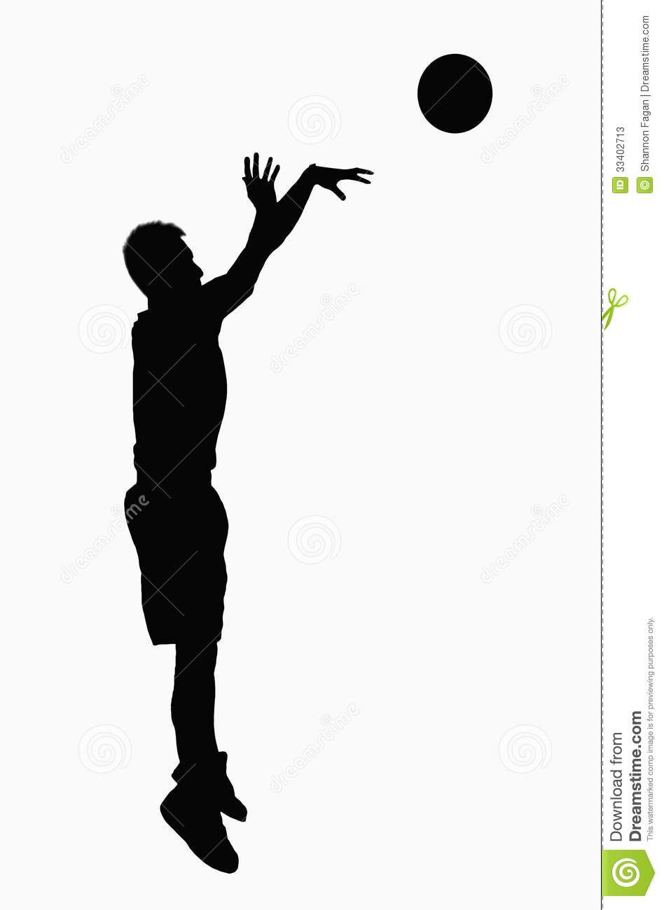 Basketball Shooter Silhouette Google Search Ball Drawing Silhouette Template Silhouette