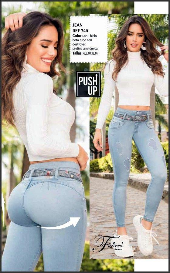 Jeans Colombianos Levanta Cola Originales, Fajas reductoras MyD