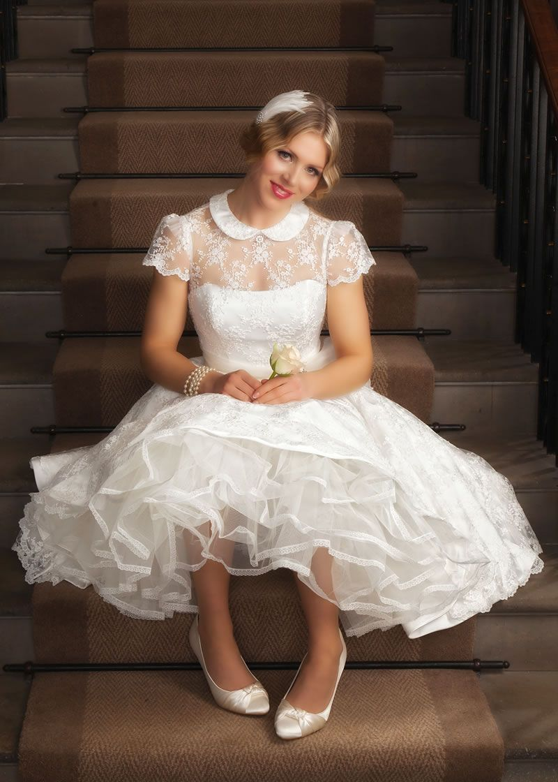 Best Short Wedding Dresses for 2019 | Petticoat Pond ...