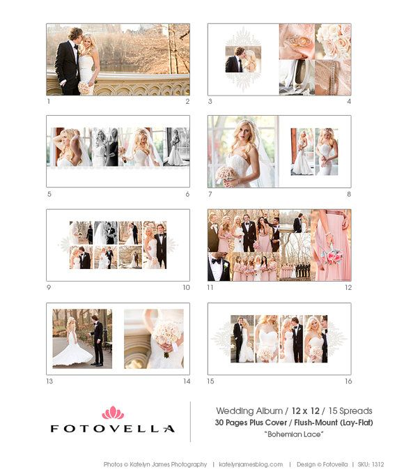 On Sale Now Album Template 12x12 Wedding Album By Fotovella Foto Perkawinan Pernikahan Perkawinan