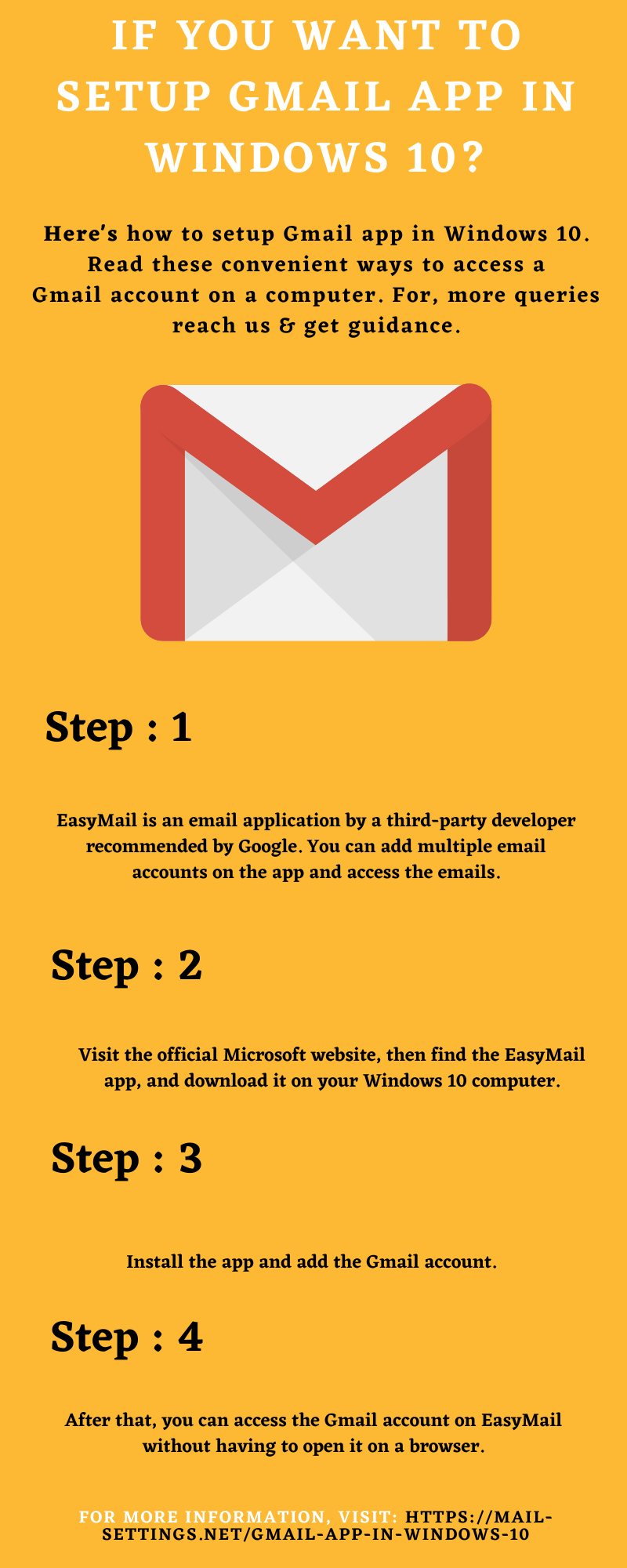Do You Want To Setup Gmail App In Windows 10?
