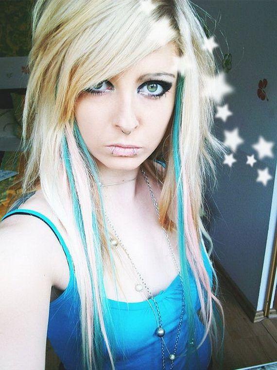 Funky Emo Hairstyles For Teenage Girls Emo Hair Long Hair