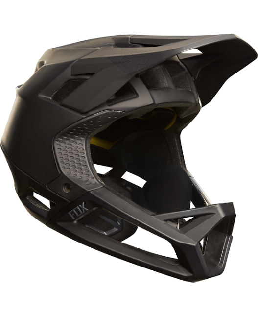 Fox Downhill-MTB Helm Proframe Matte Black