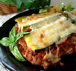 "Zucchini Lasagna: ""Talk about delish! You definitely don't ..."