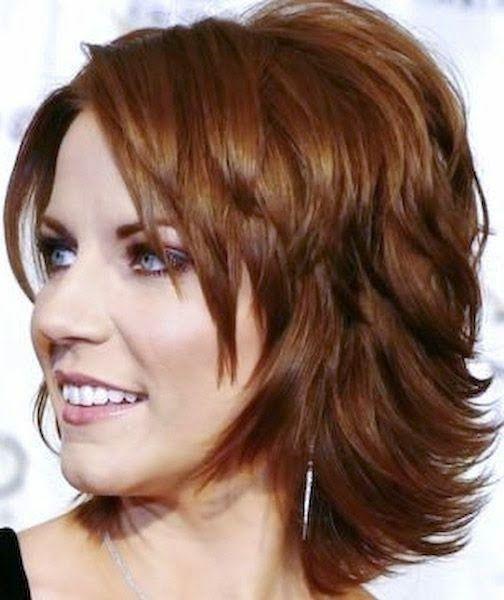 Frisuren fur halblange wellige haare