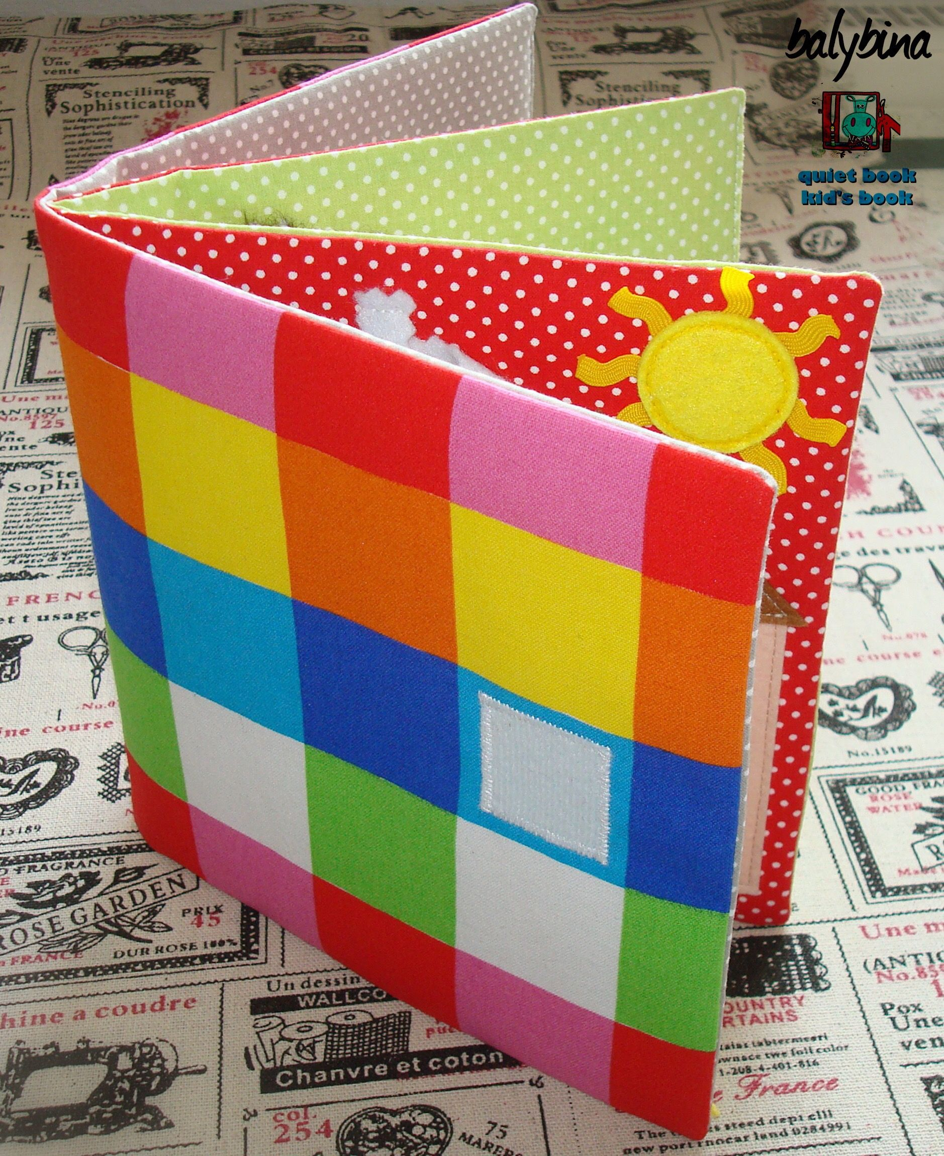 Quiet Book Binding L Simple Way (With Images)
