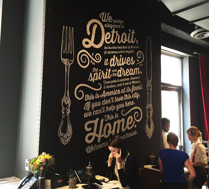 Chef Pete Reviews Townhouse Detroit Great New Restaurant In