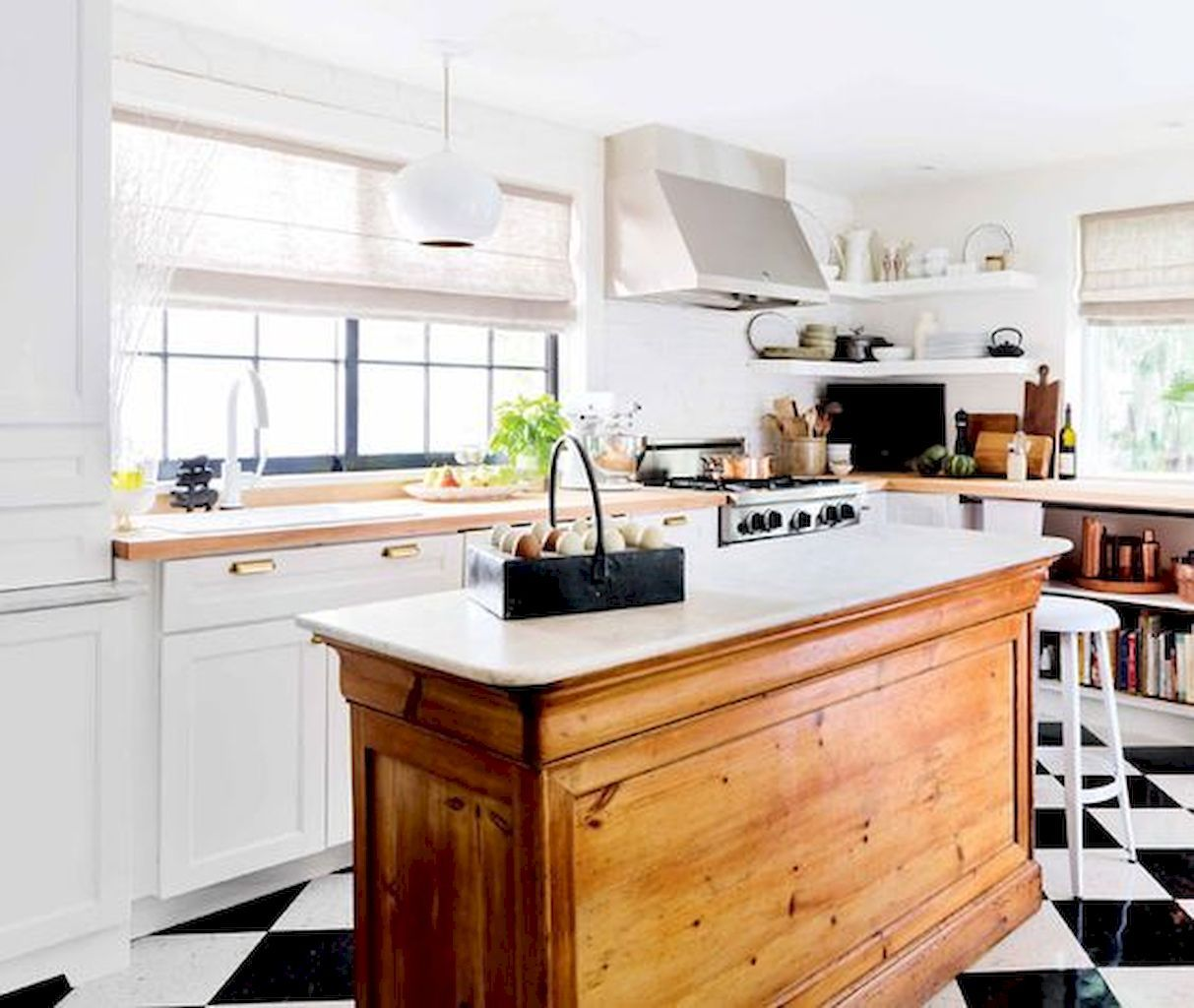 60 Inspired Farmhouse Kitchen Island Design Ideas ...