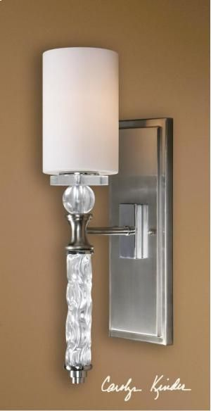 22486 Uttermost Campania, 1 Lt Wall Sconce in Portland and Lake Oswego, OR http://keyhomefurnishings.com, Lake Oswego, Oregon.
