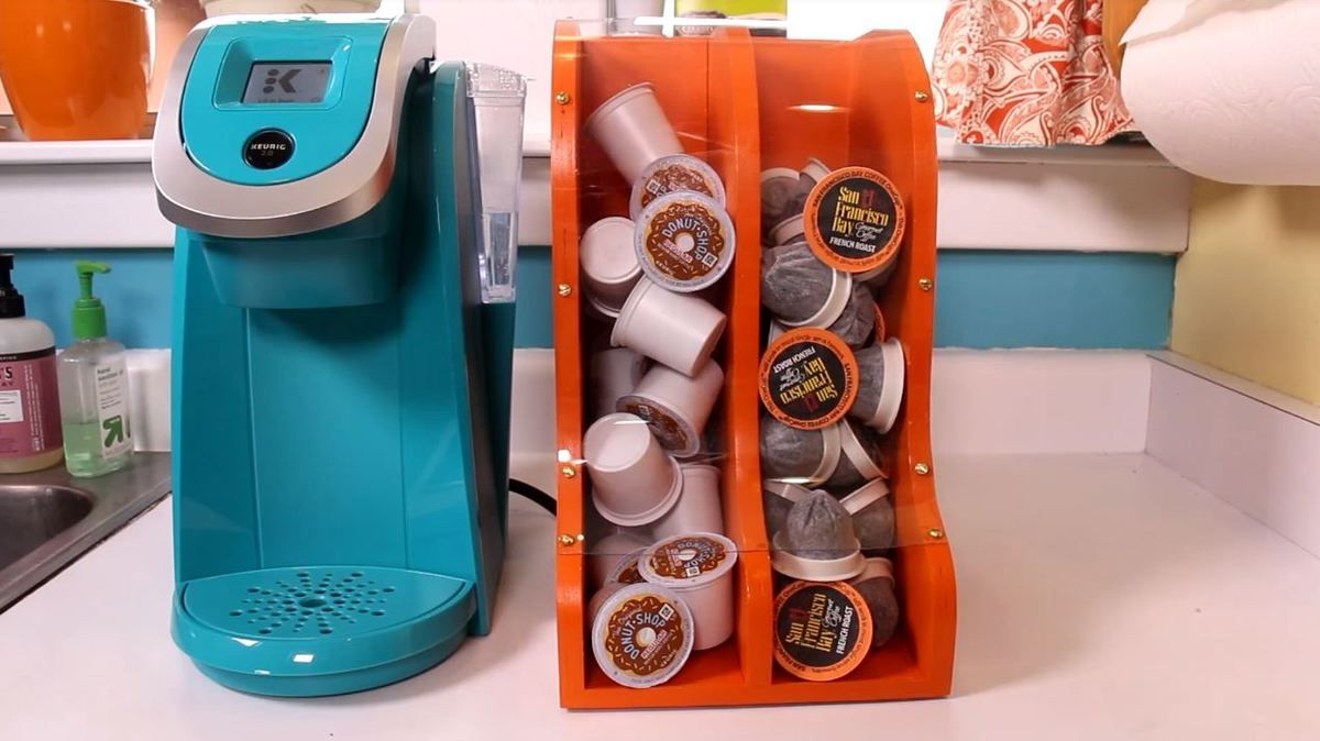 Coffee Pod Dispenser