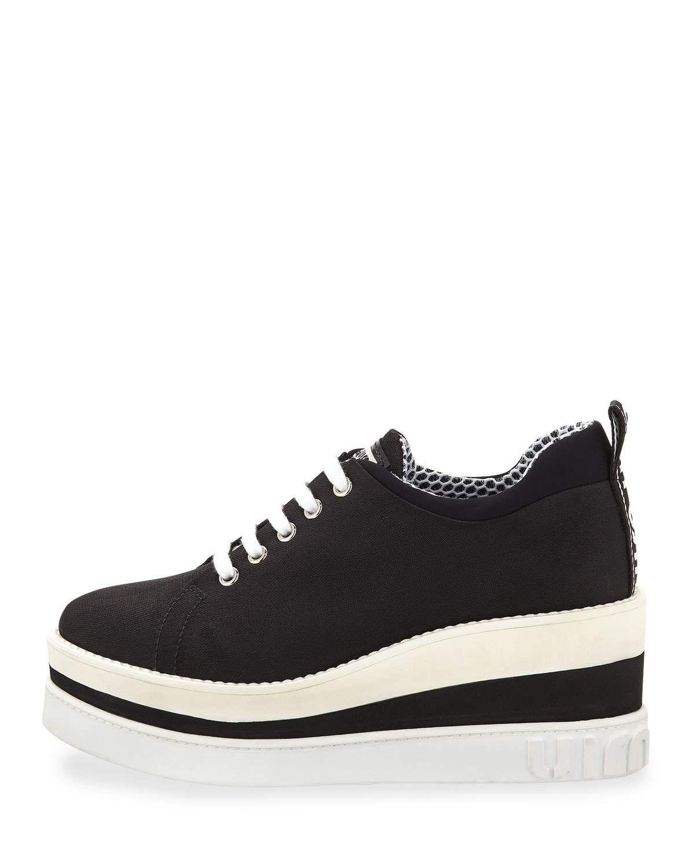 73f49af2772 Miu Miu Nylon-Tech Platform Sneaker