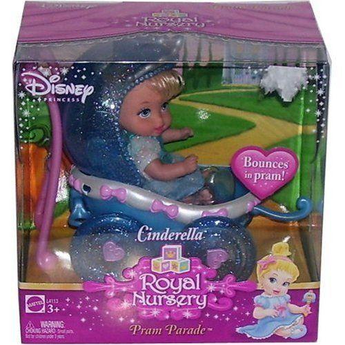 Disney Princess Royal Nursery Pram Parade Cinderella By