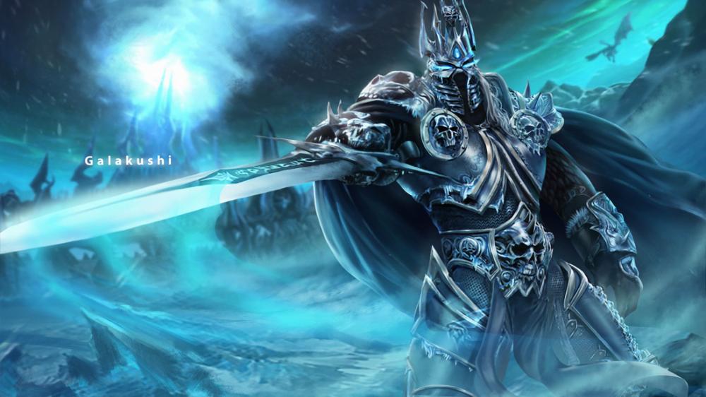 Lich King By Galakushi On Deviantart Lich King Lich World Of Warcraft Wallpaper