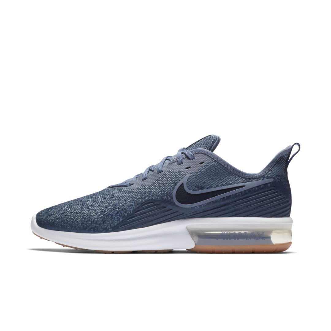 Nike Air Max Sequent 4 Men s Shoe Size 10.5 (Midnight Navy)  a36ba80e5