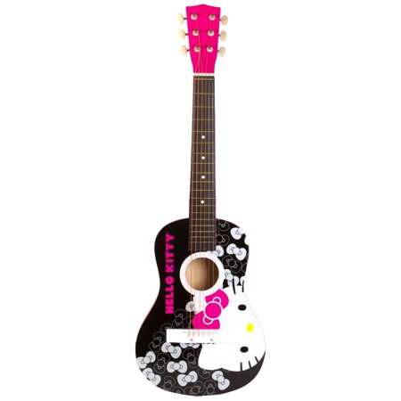 Hello Kitty Acoustic Guitar Walmart Com Hello Kitty Hello Kitty Toys Hello Kitty Merchandise