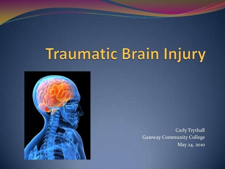 Traumatic Brain Injury Power Point | SLP | Brain injury