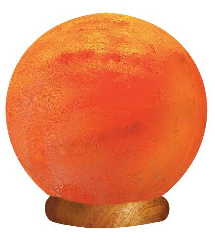 Wbm Salt Lamp Wbm Himalayan Light # 1451 Globe Hand Carved Natural Air Purifying