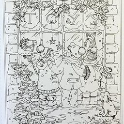 Creative Haven Winter Wonderland Coloring Book Adult Coloring