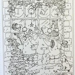 Creative Haven Winter Wonderland Coloring Book (Adult Coloring ...