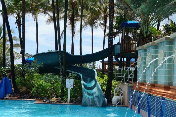 Waterslide Fun At San Juan Marriott Resort Our Surprising Visit To Chuck E Cheese