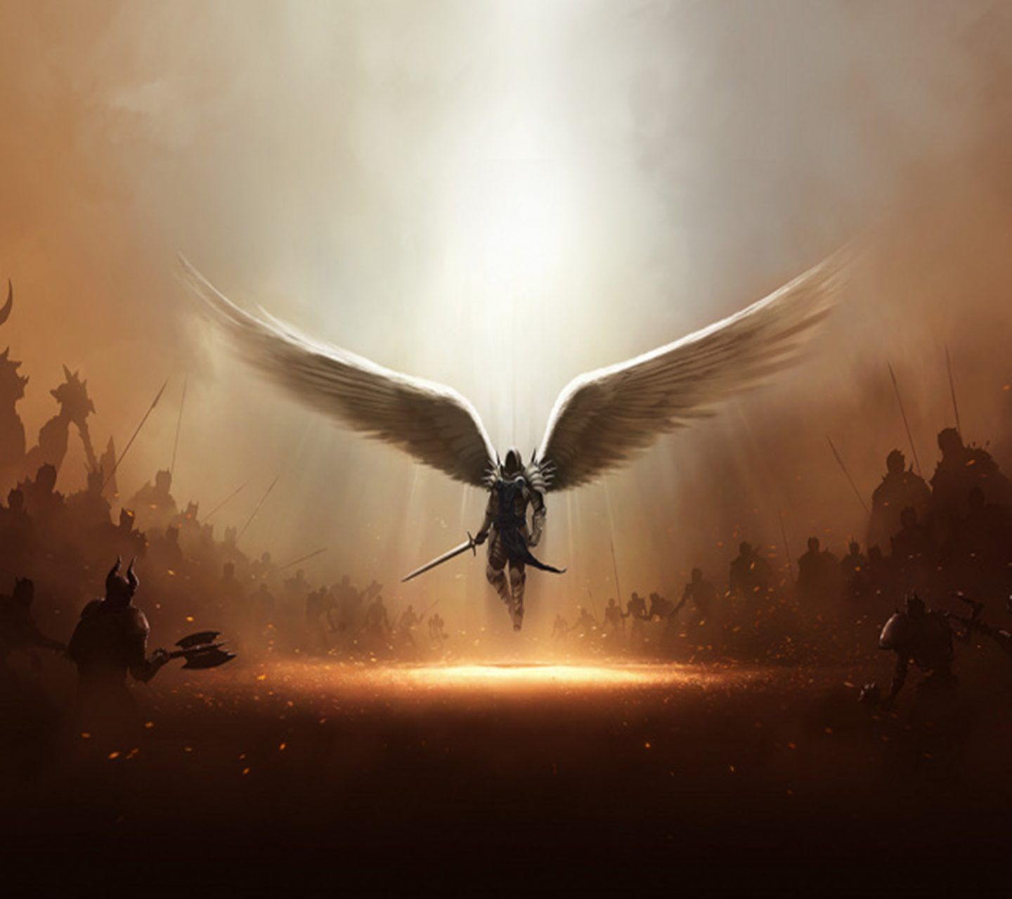 Warrior Angel Angel Wallpaper Angel Warrior Archangels