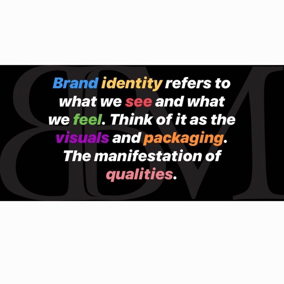 So What Exactly Does Brand Identity Include Things Like Color Palate Various Patterns Typography Shapes Logos Color Palate Brand Identity Instagram Posts