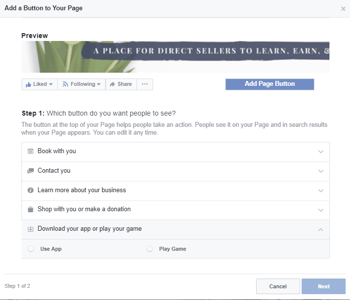 How To Add The Shop Now Button To Your Facebook Business Page Business Pages Facebook Business Ads