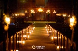A Candle Lit Wedding Ceremony Soo Excited Because Even Our Priest Thinks It Will Be