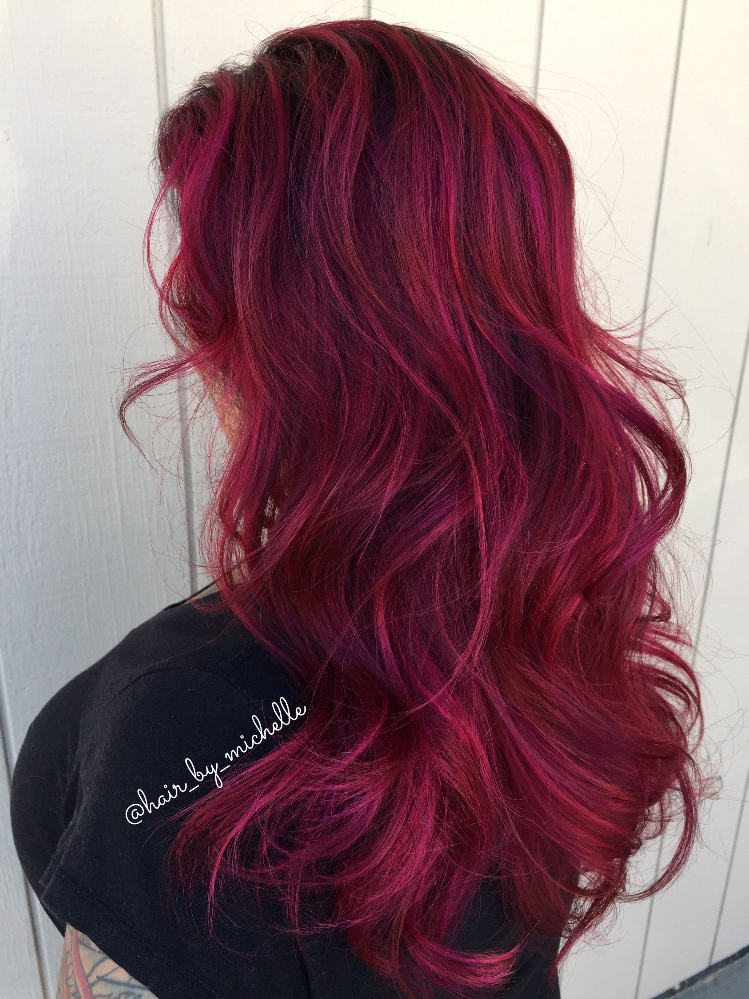 Red Hair Red Balayage Shadow Root Roots Hair Shadow Roots Hair Dyed Hair