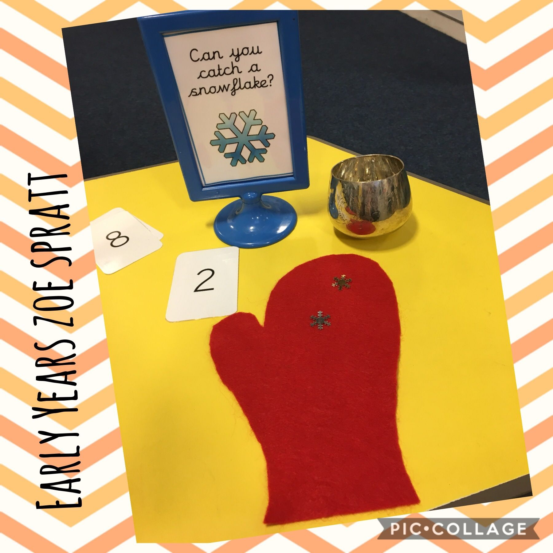 Winter Early Years Matching Numerals To Quantities With