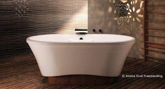 Bain Ultra Freestanding Bain Ultra Amma Oval Freestanding Tub