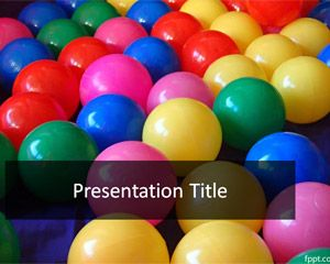 fun party powerpoint template free powerpoint templates fantasy