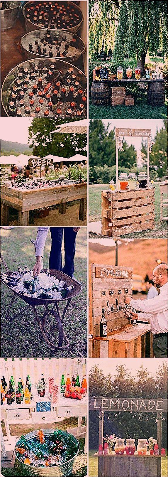 Photo of 18 einzigartige & kreative Hochzeit Drink Bar Ideen für Hochzeit im Freien #Hoc… – Decorating Ideas