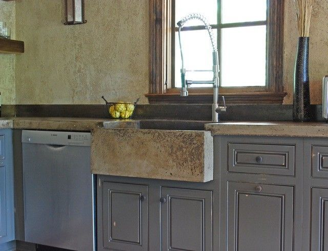 Custom Made Tuscan Kitchen Farm Sink With Images Tuscan