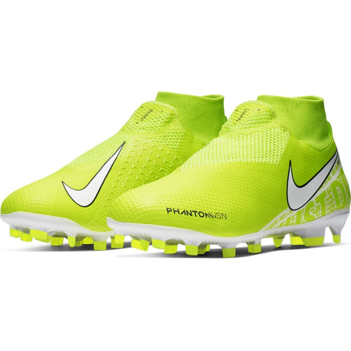 Buty Pilkarskie Nike Phantom Vsn Pro Df Fg M Ao3266 717 Zolte Zolte Football Shoes Nike Mens Football Boots