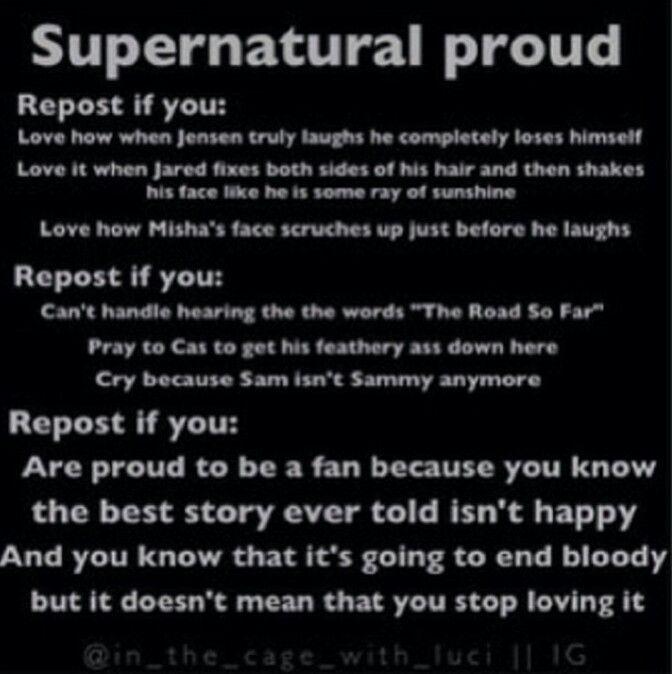 Yes! Proud Spn fan!