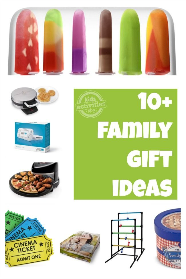 Superb Family Picture Gift Ideas Part - 6: 10 Family Gift Ideas Chosen By Kids Activities Blog