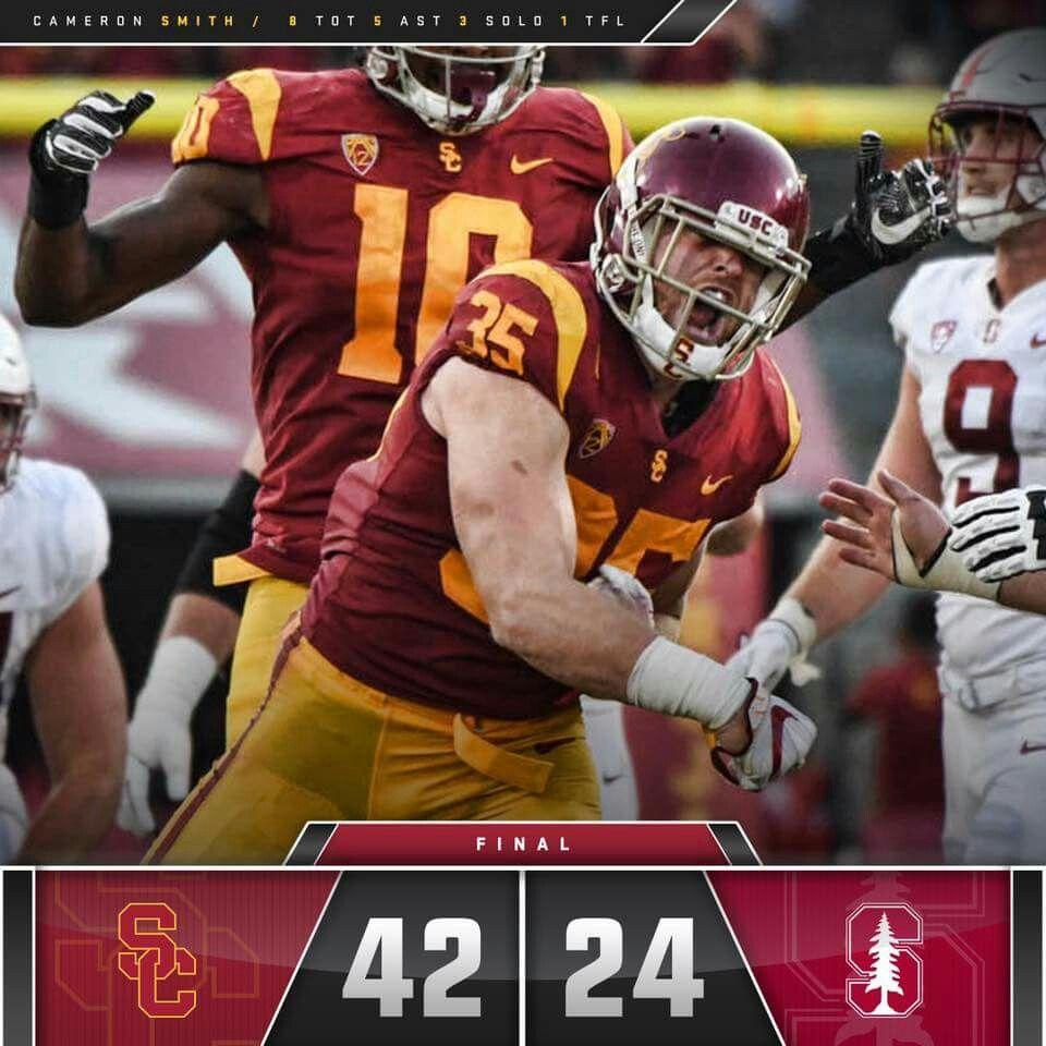 Trojans Destroy Stanford! | Usc trojans football, Usc athletics ...