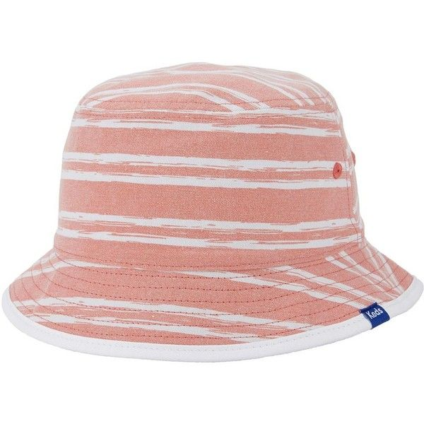 85e3e9ff647 Women s Keds Reversible Patterned Bucket Hat (£24) ❤ liked on Polyvore  featuring accessories
