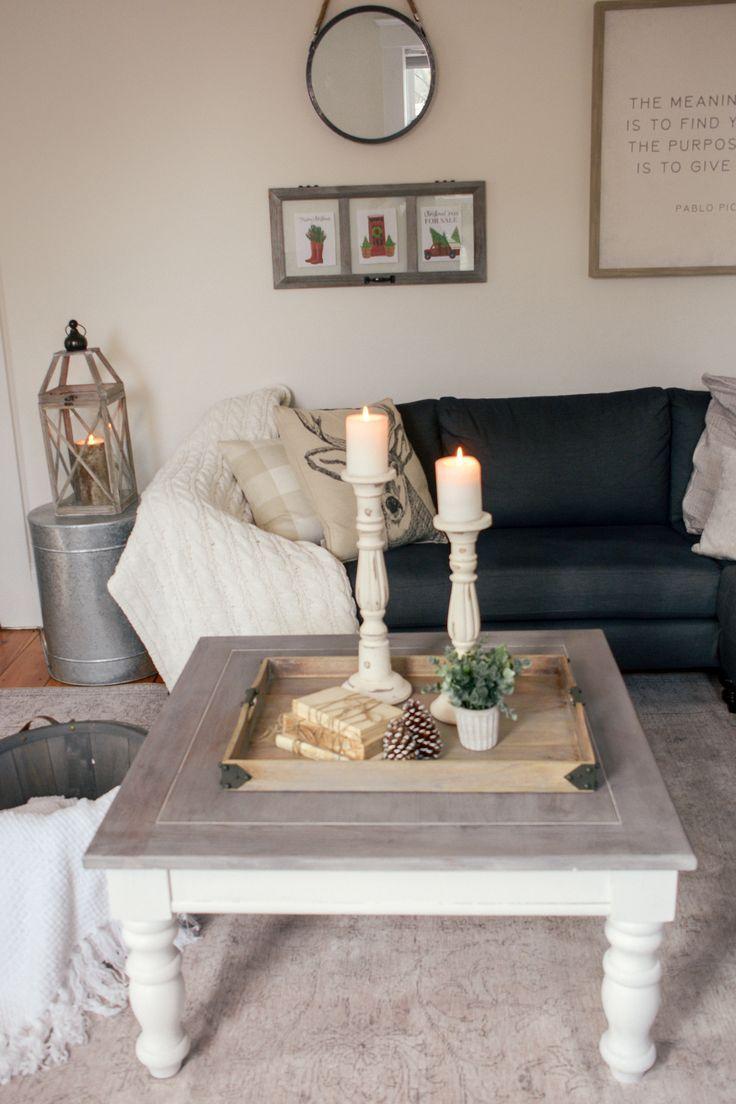 Diy farmhouse coffee table facebook marketplace finds