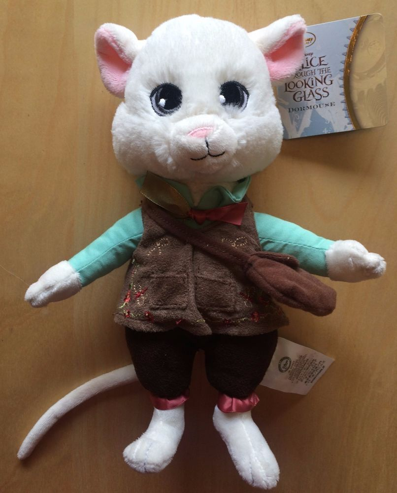 Disney Store Alice Through The Looking Glass Dormouse Door Mouse