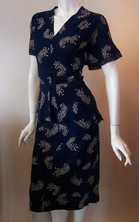 Vintage Rayon Dress